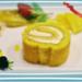 ルバーブのロールケーキ